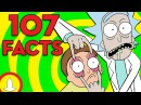 107 Rick And Morty Facts YOU Should Know! - ToonedUp @CartoonHangover