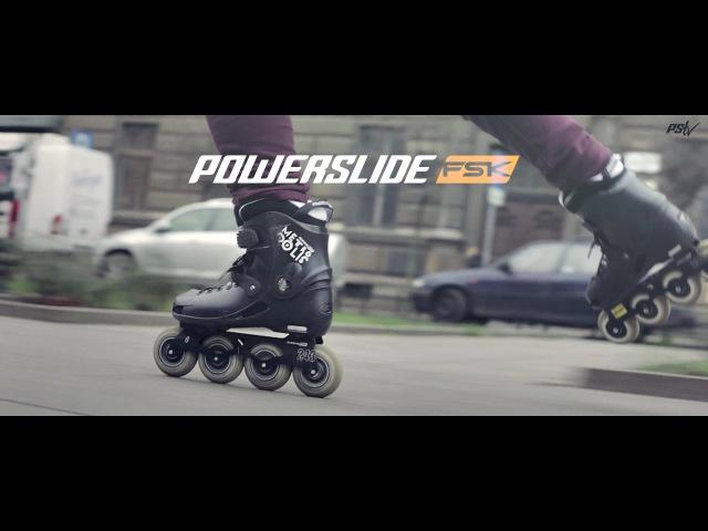 Freeskating / Freeriding with Eryk Muszynki - Powerslide FSK Metropolis Pro Inline Skate