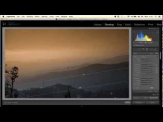 Lightroom 5 : Graduated Filter