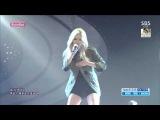 [Comeback Stage] 150823 HyunA (현아) - Run & Run @ 인기가요 Inkigayo [1080p]