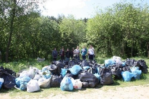 Афиша Калуга Уборка мусора в лесополосе.