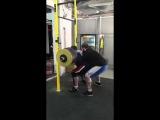 Влад Алхазов ( Израиль) , присед в бинтах - 420 кг на 3 раза !