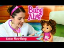 Baby Alive Better Now Baby Doll Sick Dolly with Doc Sandra McStuffins by DisneyCarToys