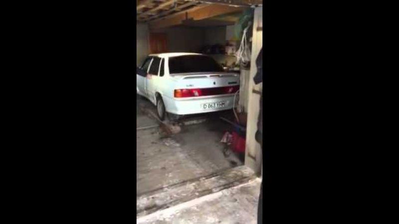 Лайфхак из Актобе, как парковать 2 машины в 1 гараж kfqa[fr bp frnj,t, rfr gfhrjdfnm 2 vfibys d 1 ufhf;