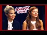 Insidious Chapter 3 Interview Stefanie Scott &amp Hayley Kiyoko