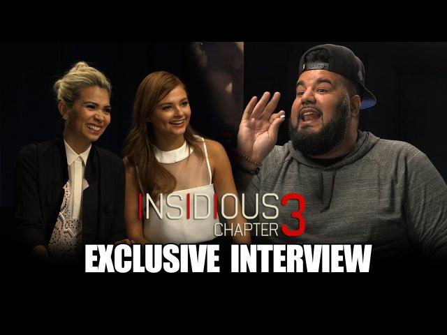 Insidious Chapter 3 *Exclusive* |Chuey Martinez|
