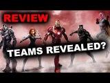 Captain America Civil War Promo Art, Reveals Teams! - Review aka Reaction - Beyond The Trailer