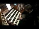 Olivier Latry at the organ at the Cathedral of Notre Dame