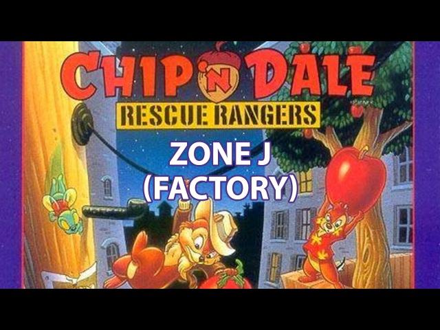 Chip n Dale – Zone J [Factory] (NES, Денди, гитара)