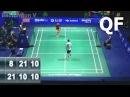 LIN Dan vs HU Yun 2015 China Open Quarter Final