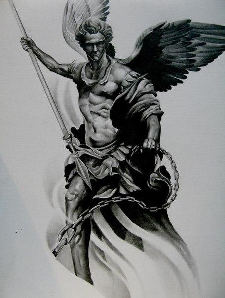 архангел эскиз: