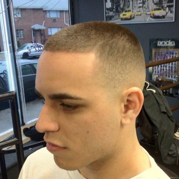 Haircut crew cut