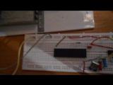 Проект_1. Часть_1. Робот-кошка. МК Аtmega8515-16PU. Загружен будущий голос робота.