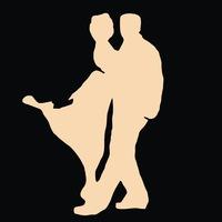"""Логотип Школа танго """"Escuela de tango - Калуга"""""""