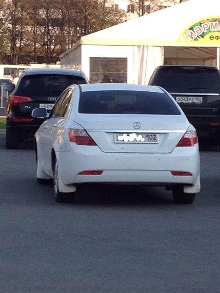 Новый Mercedes Emgrand. В Уфе???