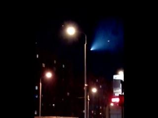 Метеорит над Омском (2015-11-17 18:17:56)