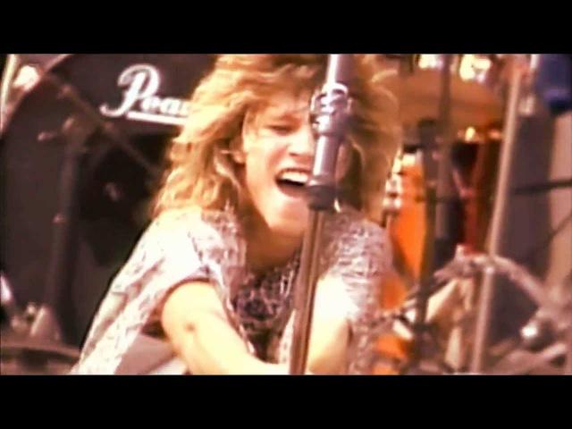 RUNAWAY Bon Jovi (SUPER ROCK JAPAN 1984) HD (new audio)
