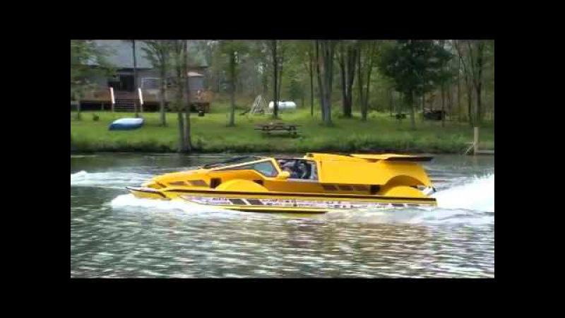 Dobbertin HydroCar - Water Test 3 - Amphibious Vehicle