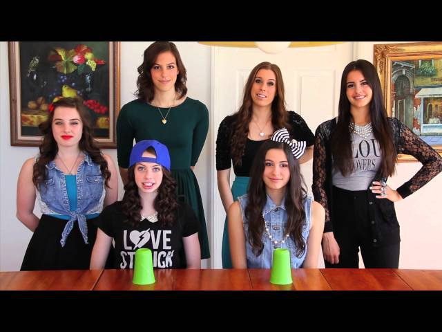 Cups from Pitch Perfect by Anna Kendrick Cover by CIMORELLI
