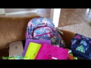 США Наши покупки к школе