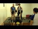 Жим гантелей по 62 кг на 3 повторения Dumbbell bench press at 62 kg for 3 repetitions