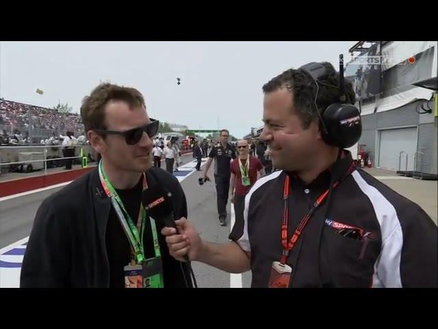 Formula 1 2015 Canada GP - Pre Race, Michael Fassbender