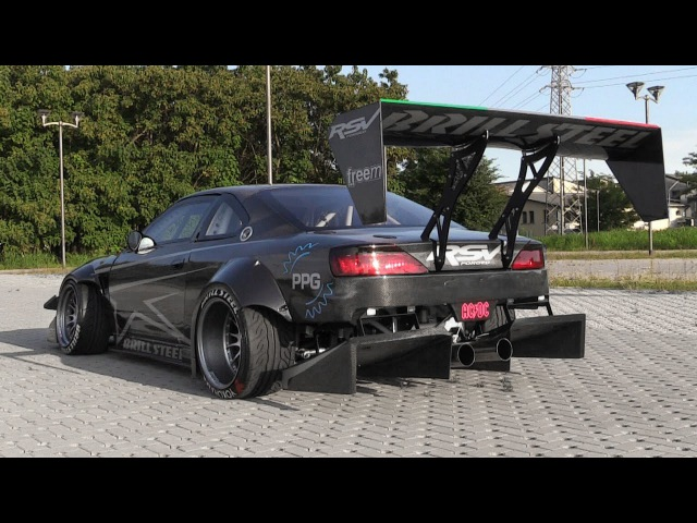 The Demon On 4 Wheels: Brill Steel' Carbon V8 S14.5 - Overview, Start Ups Revs