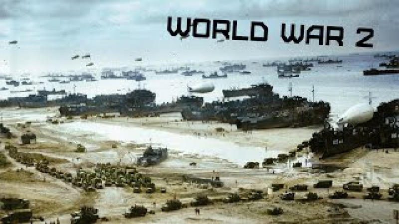 World War 2 • Operation «Overlord» • In colour