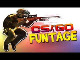 Counter-Strike: Global Offensive FUNTAGE! - Surfer Dude, Grenades & More (CS:GO Funny Moments)