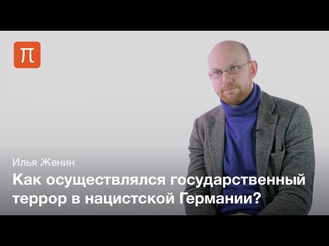Репрессивный аппарат Третьего рейха Илья Женин