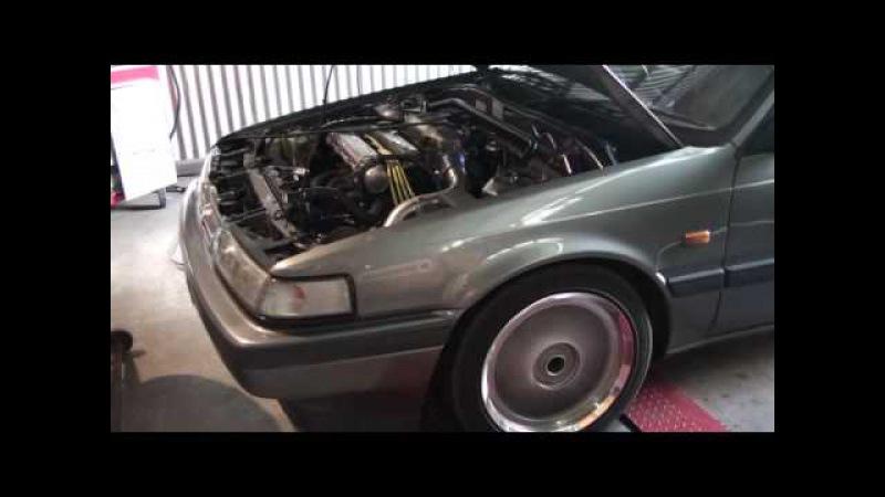 Mazda 626 wagon FE3 turbo dyno tuning.
