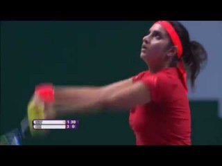 Sania Mirza | 2015 WTA Finals Hot Shot