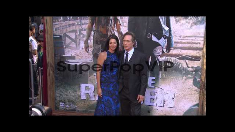 William Fichtner and Kymberly Kalil at 'The Lone Ranger' ...