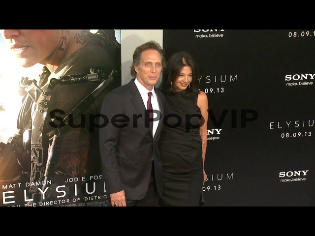 Kymberly Kalil, William Fichtner at Elysium Los Angeles P...