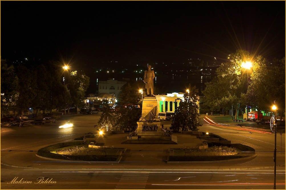 Площадь Нахимова.<br>Фото: Максим Билибин.
