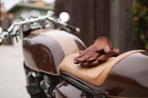 Мотоцикл из кофе