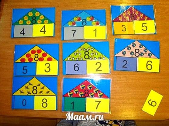 Игры по математики своими руками