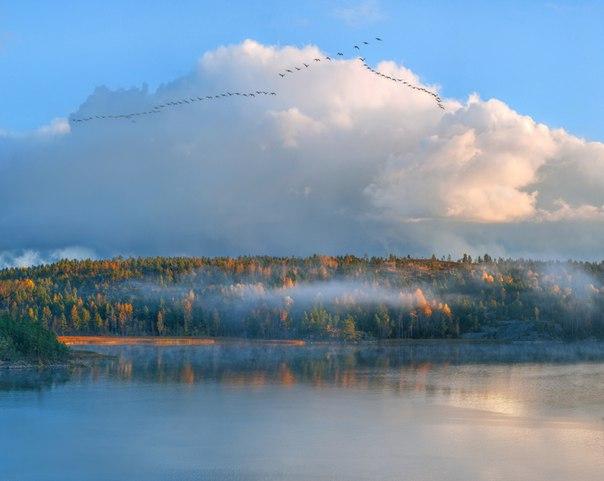 Фото дня. Осенняя Карелия.