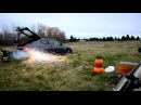 250lb Railgun Confirmed lethality Ballistics Gelatin Test