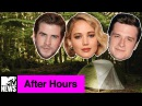 Jennifer Lawrence the 'Mockingjay' Cast Get Crazy at Camp | MTV After Hours with Josh Horowitz