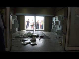 Взрыв газового баллона для закиси азота в Торговом центре ВТД & Колорлон (Новосибирск)