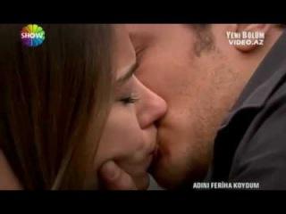 36.bölüm Emir feriha harika öpüşme sahnesi))