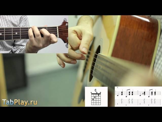 Уроки гитары бой в стиле Country Кантри
