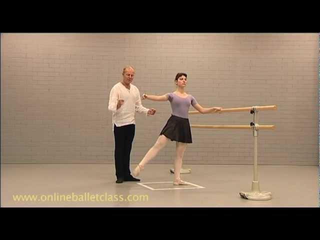 Ballet Lesson Jete