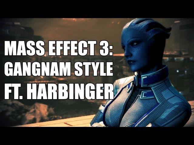 Mass Effect: GANGNAM STYLE feat. DJ Harbinger Assuming Direct Control