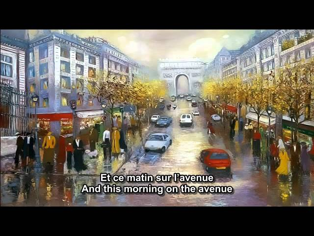 Les Champs-Elysees - Joe Dassin - French and English subtitles.mp4
