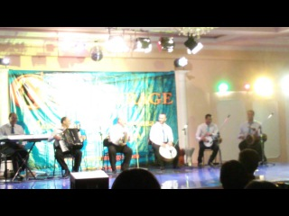 Katia Eshta live bend at V CAIRO MIRAGE 2015, Moscow