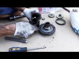 Замена подшипника ступицы переднего колеса ваз 2110, 2114-2115