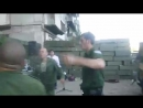 Givis Borat style disco dance. DNR. Russians