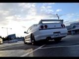 Nissan Skyline R33 GTS-T -94 Exhaust sound | Ниссан, Скайлайн, автомобиль, машина, тачка, спорткар, суперкар
